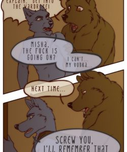 The Vixen And The Bear 2 - The Hunt For The Red Casket 009 and Gay furries comics