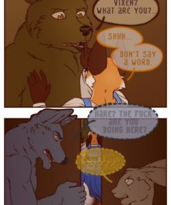 The Vixen And The Bear 2 - The Hunt For The Red Casket 011 and Gay furries comics
