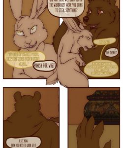 The Vixen And The Bear 2 - The Hunt For The Red Casket 040 and Gay furries comics