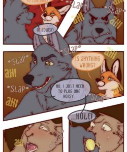 The Vixen And The Bear 2 - The Hunt For The Red Casket 044 and Gay furries comics