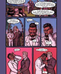 The Wedding Night 001 and Gay furries comics