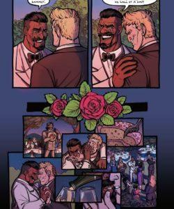 The Wedding Night 002 and Gay furries comics