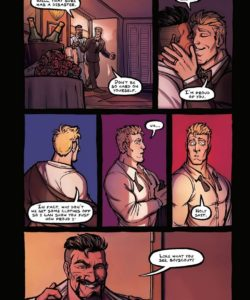 The Wedding Night 003 and Gay furries comics