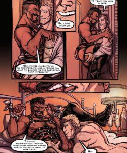 The Wedding Night 005 and Gay furries comics