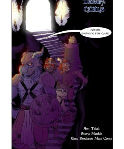 Thievery 1 – Issue 3 – Colis gay furry comic