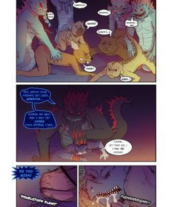 Thievery 1 - Issue 3 - Colis 008 and Gay furries comics