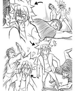 Trapped 1 007 and Gay furries comics
