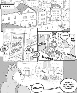 Willy The Alchemist In Syrup Secrets 006 and Gay furries comics