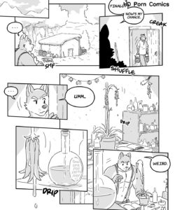 Willy The Alchemist In Syrup Secrets 008 and Gay furries comics