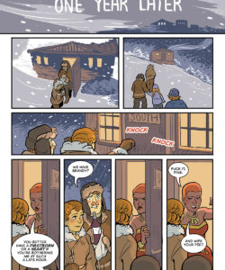 Winter's Coming gay furry comic
