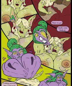 3 Orcs Walk Into A Hotel gay furry comic