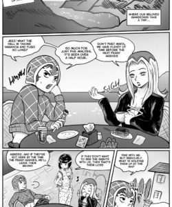 A Hazy Affair gay furry comic
