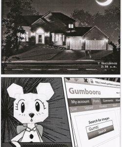 A Nightmare In Elmore gay furry comic