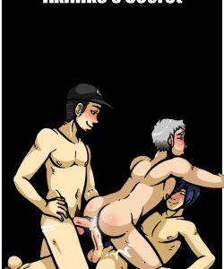 Akihiko's Secret gay furry comic