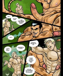 Alex In Bonerland gay furry comic