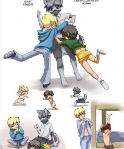 Babysitting 101 gay furry comic