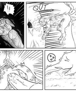 Big Trouble gay furry comic