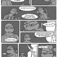 Black And Blue 3 gay furry comic