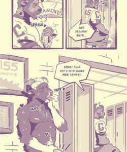 Caricatures 3 gay furry comic