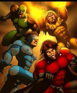 Cosmic Heroes 1 001 and Gay furries comics