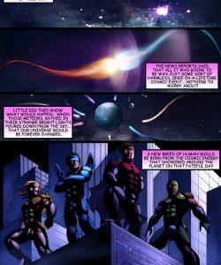 Cosmic Heroes 1 002 and Gay furries comics