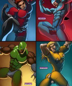 Cosmic Heroes 1 003 and Gay furries comics