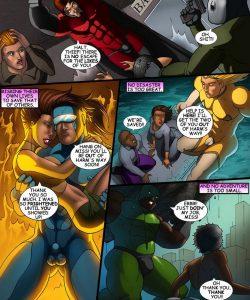 Cosmic Heroes 1 004 and Gay furries comics