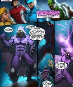 Cosmic Heroes 1 005 and Gay furries comics
