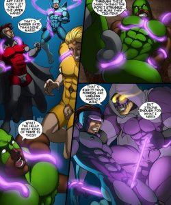 Cosmic Heroes 1 006 and Gay furries comics