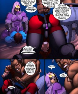 Cosmic Heroes 1 009 and Gay furries comics