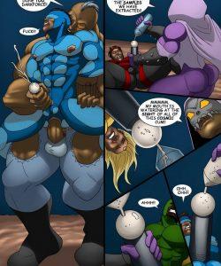 Cosmic Heroes 1 018 and Gay furries comics