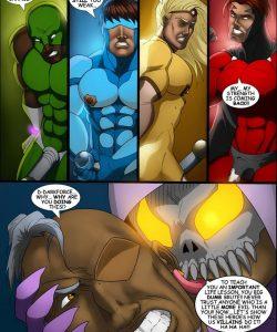 Cosmic Heroes 1 022 and Gay furries comics