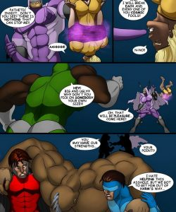 Cosmic Heroes 1 025 and Gay furries comics