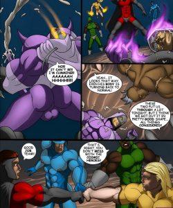 Cosmic Heroes 1 027 and Gay furries comics