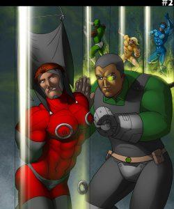 Cosmic Heroes 2 001 and Gay furries comics