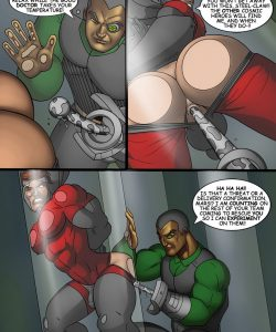 Cosmic Heroes 2 003 and Gay furries comics