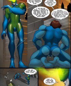 Cosmic Heroes 2 005 and Gay furries comics