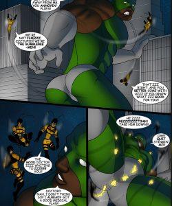 Cosmic Heroes 2 007 and Gay furries comics