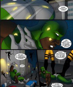 Cosmic Heroes 2 008 and Gay furries comics