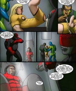 Cosmic Heroes 2 014 and Gay furries comics