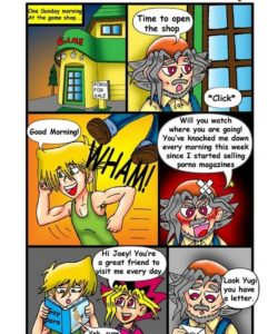 Duel Of Passion gay furry comic