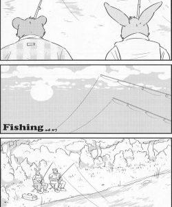 Fishing gay furry comic