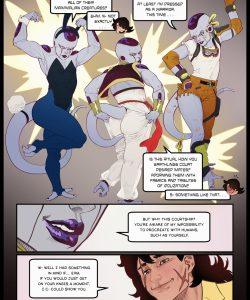 Frieza x Yamcha gay furry comic