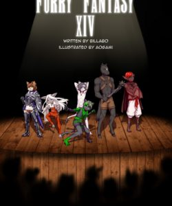 Furry Fantasy XIV 3 001 and Gay furries comics