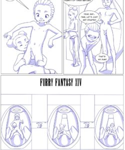 Furry Fantasy XIV 3 008 and Gay furries comics