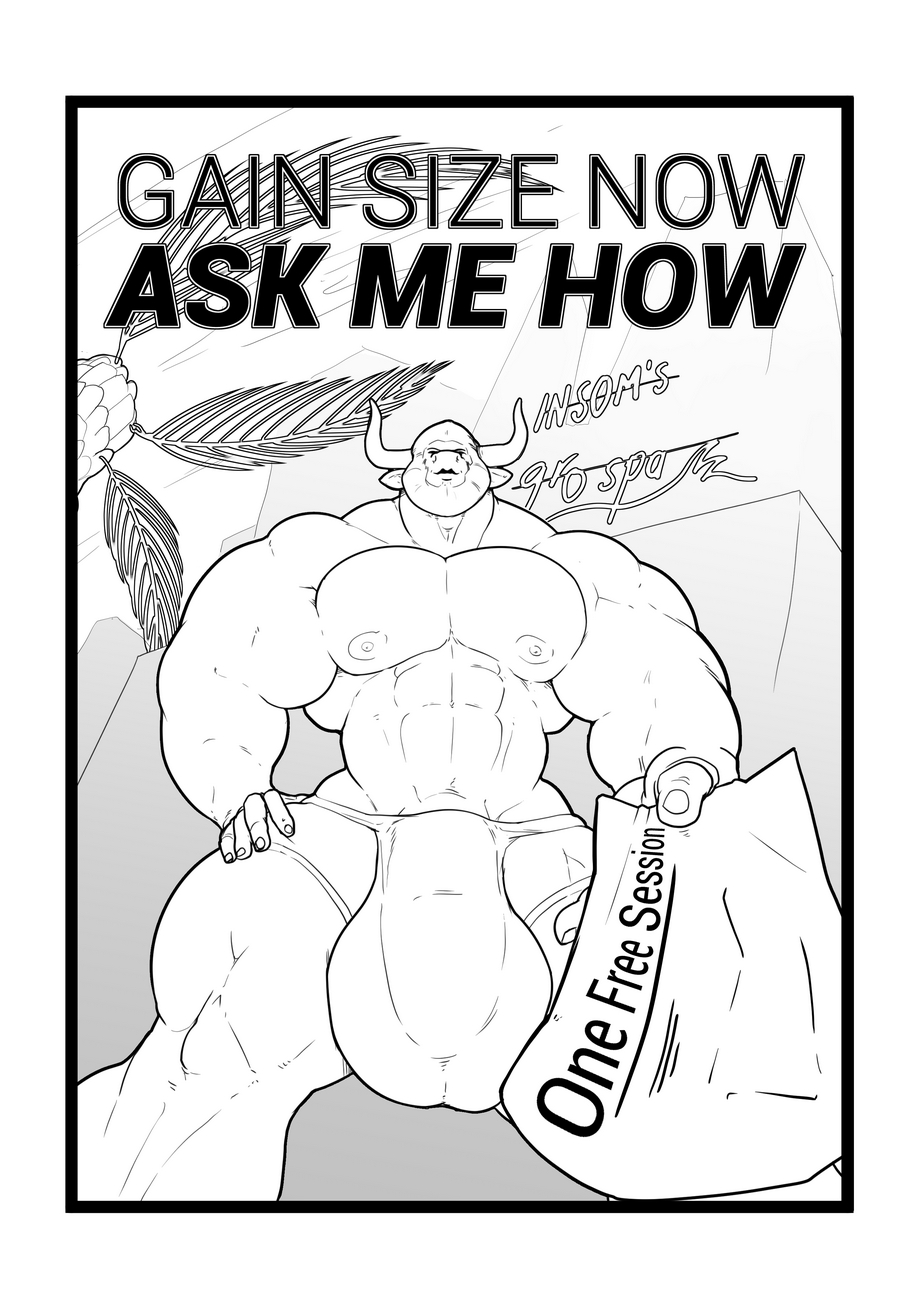 Gain Size Now, Ask Me How gay furry comic