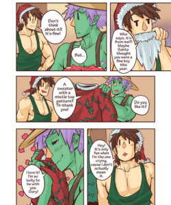 Gary & Pit – Christmas Special gay furry comic