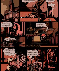 Gay Gangster Ghosts 3 001 and Gay furries comics