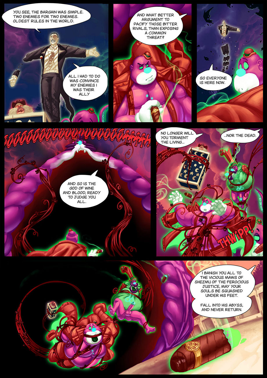 Gay Gangster Ghosts 5 gay furry comic