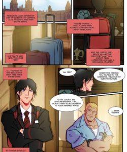 Gotham Acadamy 1 gay furry comic